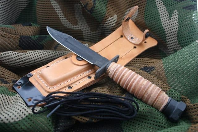 Ontario 499 Knife Review