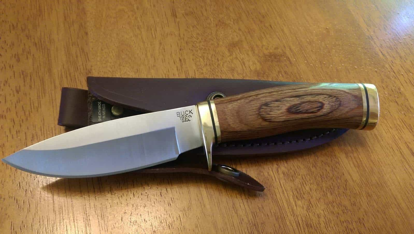Buck 192BR Vanguard Fixed Blade Knife