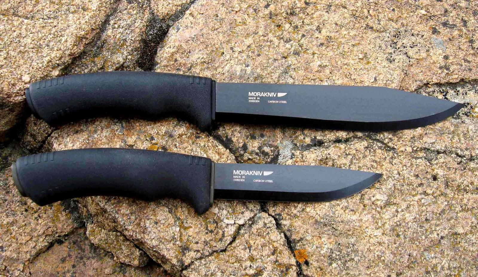 Morakniv Bushcraft Carbon Black Tactical Knife Review