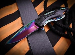 Rainbow knife