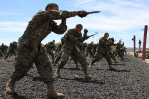 knife fighting military